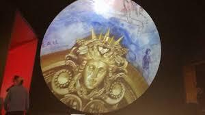 le plafond de l opéra garnier à l expo chagall musique et