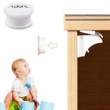 Magnetic Locks For Furniture by Adoric Sliding Cabinet Locks U Shaped Baby Safety Locks