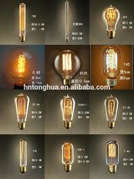 B53 Spiral Retro Edison Vintage Rustic Light Bulbs View Style