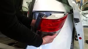 how to replace rear taillight brake light bulb turn signal bulb