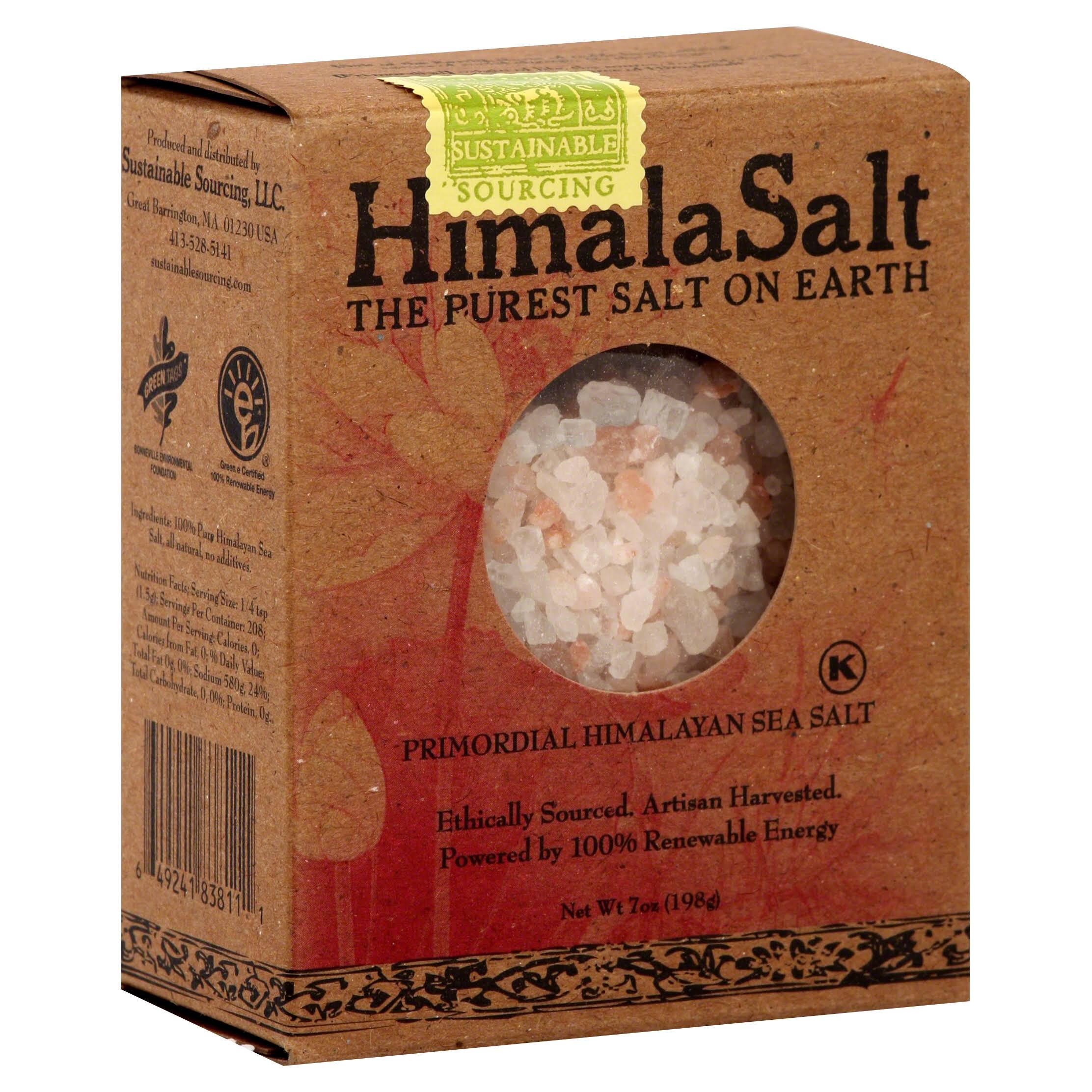 Sustainable Sourcing Himala Salt Primordial Himalayan Sea Salt