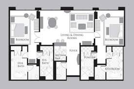 mgm signature two bedroom suite floor plan memsaheb net