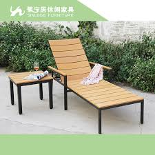 Green Wood Outdoor Chaise Lounge Chairs Garden Pool Loungers Backrest Recline In Sun From Furniture On Aliexpress