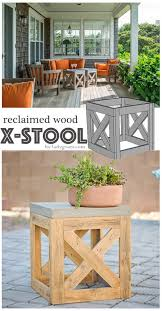 Diy Plans Garden Table by 25 Best Diy Outdoor Furniture Ideas On Pinterest Outdoor