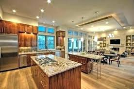 Living Room Kitchen Combo Dining And