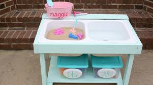 Sand U0026 Water Tables For by Make Sand And Water Table Using Old Sink Simplemost
