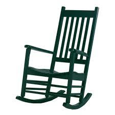 International Concepts Solid Wood Porch Rocker