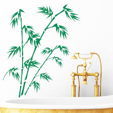 bambus pflanze wandtattoo wall