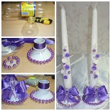 Wonderful DIY Candlestick From Plastic Bottles