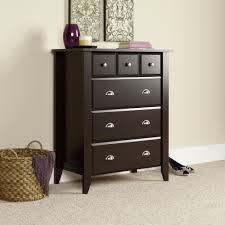 shoal creek dresser jamocha shoal creek 4 drawer chest 409714 sauder