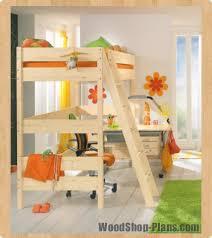 Loft Bed Woodworking Plans by Kids Loft Bed Woodworking Plans Sophia U0027s Room Ideas Pinterest