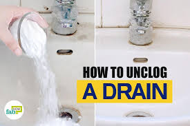 Unclogging A Stubborn Bathtub Drain by How To Unclog A Drain Fix It In No Time Fab How