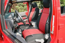 Rugged Ridge Custom Neoprene Seat Covers - In Stock