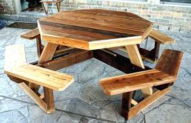Outdoor Furniture Rustic Patio Table