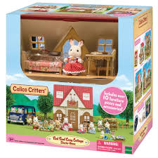 Calico Critters Red Roof Cozy Cottage - Walmart.com Calico Critters Tea And Treats Set Walmartcom Baby Kitty Boat And Mini Carry Case Youtube 2 Different Play Sets Together Highchair Cradle With Houses Opening Lots More Stuff Sylvian Families Unboxing Review Playpen High Childrens Bedroom Room Nursery Minds Alive Toys Crafts Books Critter The Is A Fashion Showcase Magic Beans Luxury Townhome Cc1804 Splashy Otter Family Castle Epoch Toysrus