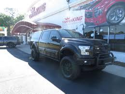 100 Lund Truck Caps 2018 Black Ford F150 Leer 100XQ Bull Bars TopperKING TopperKING