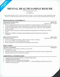 Resume Examples For Mental Health Counselors Manual Guide Example Rh Netusermanual Today Counselor Objective Licensed