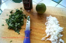 cuisine fran ise salsa au chipotle dans la cuisine de françoise