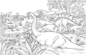 Unique Dinosaur Coloring Pictures Awesome Learning Ideas