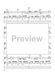 Smashing Pumpkins Landslide Tab by Landslide Sheet For Piano And More