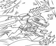 Lego Chima Cragger Coloring Pages