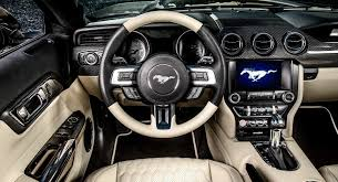 Carlex Adds Whole Lotta Leather And Carbon To Mustang GT Interior