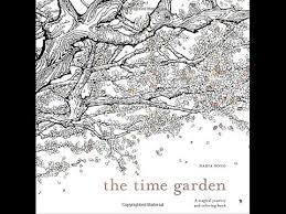 Flip Through The Time Garden Coloring Book By Daria Song