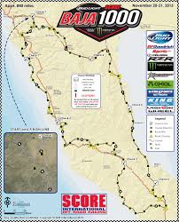 Preliminary Race Course Map Released for 2015 Bud Light SCORE Baja