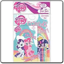 My Little Pony Play Pack Colouring Book Colour Pencils Pad Activity Set Myppk About This Product Picture 1 Of 2