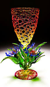 Cohn Glass Blown Pumpkins by 269 Best Sculptural Glass Art Flowers Images On Pinterest