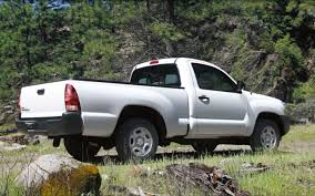 Eco-Friendly Haulers: Top 10 Most Fuel-Efficient Pickups - Truck Trend 2009 Toyota Tacoma 4 Cylinder 2wd Kolenberg Motors The 4cylinder Toyota Tacoma Is Completely Pointless 2017 Trd Pro Bro Truck We All Need 2016 First Drive Autoweek Wikipedia T100 2015 Price Photos Reviews Features Sr5 Vs Sport 1987 Cylinder Automatic Dual Wheel Vehicles That Twelve Trucks Every Guy Needs To Own In Their Lifetime