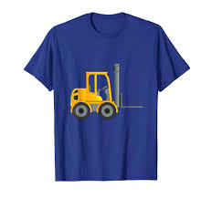 100 Powered Industrial Truck Amazoncom Forklift TShirt For Kids Lift Tee Clothing