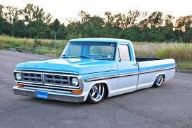 100 71 Ford Truck Slammed F100 Classic And Custom S Trucks