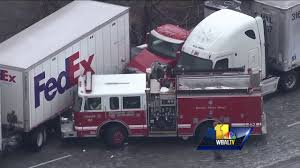 SkyTeam 11 Video Shows Ice Storm Pileup On I-95 - YouTube Tctortrailer Jackknifes On I95 Brings Traffic To Stop Wjar Robert Ben Rhoades The Truck Stop Killer Deadly Day Connecticut Post Bikes Crash From Sb In South Carolina Near Rest I 95 Stops Bi Double You Trucks Are Lined Up Along A Truck As Truckers Take Break Straddles Jersey Wall Closes Lanes Wtvrcom Inrstate Virginia Wikipedia Overloaded Finally Moved Cranston Herald Nys Thruway Rest Stops Guide Restaurants Coffee Gas At Each Ups Big Rig Driver Capes Fiery Crash Near Iteam Reconstructs Deadly That Left 5 Dead Abc11com