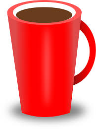 Clipart Red Coffee Cup