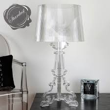 Kartell Bourgie Lamp Silver by Kartell Bourgie Table Lamp Replica Lamp Design Ideas