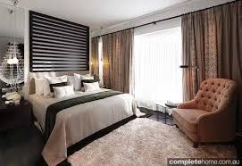 Neutral Textured Furnishings Bedroom Design