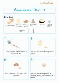 recette de cuisine pour les enfants imprimer la recette du croque monsieur parole chanson enfant
