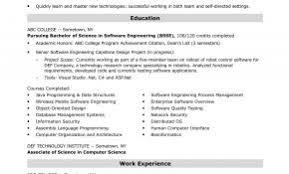 Software Developer Resume Examples 2016 New Entry Level Engineer Sample
