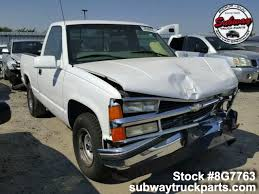 100 Chevy Silverado Truck Parts Used 1998 1500 43L Subway