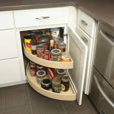 Corner Kitchen Cabinet Storage Ideas by Cabinet Kitchen Drawer Spice Organizers Creative Spice Storage