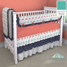 Coral And Navy Baby Bedding by 18 Best Coral Navy Turquoise Nursery Images On Pinterest