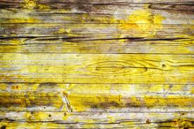 Yellow Wood Background Old Vintage Texture