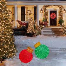 Multicolor Lighted Spiral Christmas Tree by Christmas Decorations Christmas Lighted Figures Christmas