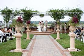 Outdoor Wedding Ceremony Simple