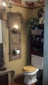 Primitive Bathroom Vanity Ideas by Best 25 Primitive Bathrooms Ideas On Pinterest Primitive
