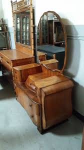 Antique Birdseye Maple Dresser With Mirror by Antique Maple Dresser With Mirror Oberharz