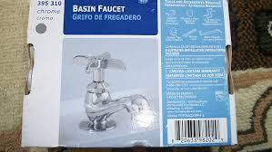 Glacier Bay Bathroom Faucets Instructions by Glacier Bay Single Hole 1 Handle Low Arc Bathroom Faucet In Chrome