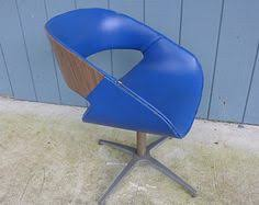Swivel Pod Dining Chair by Reserved Mid Century Overman Pod Chair Retro Swivel Chair Black