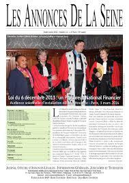 chambre des huissiers annonce edition du lundi 6 mars 2014 by annonces de la seine issuu